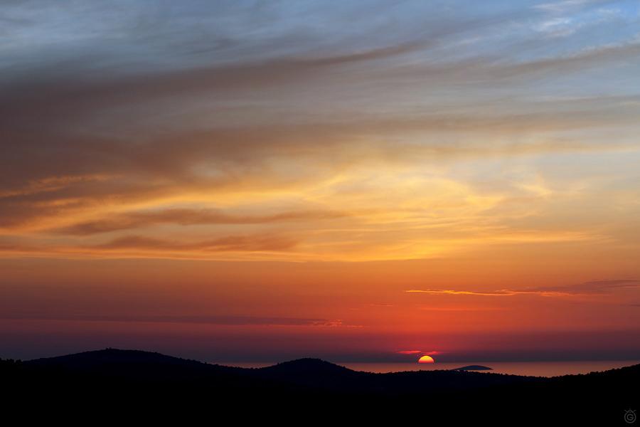 """Kliknij tutaj, aby pobrać - """"Zachód słońca - tapeta 2560x1600"""""""
