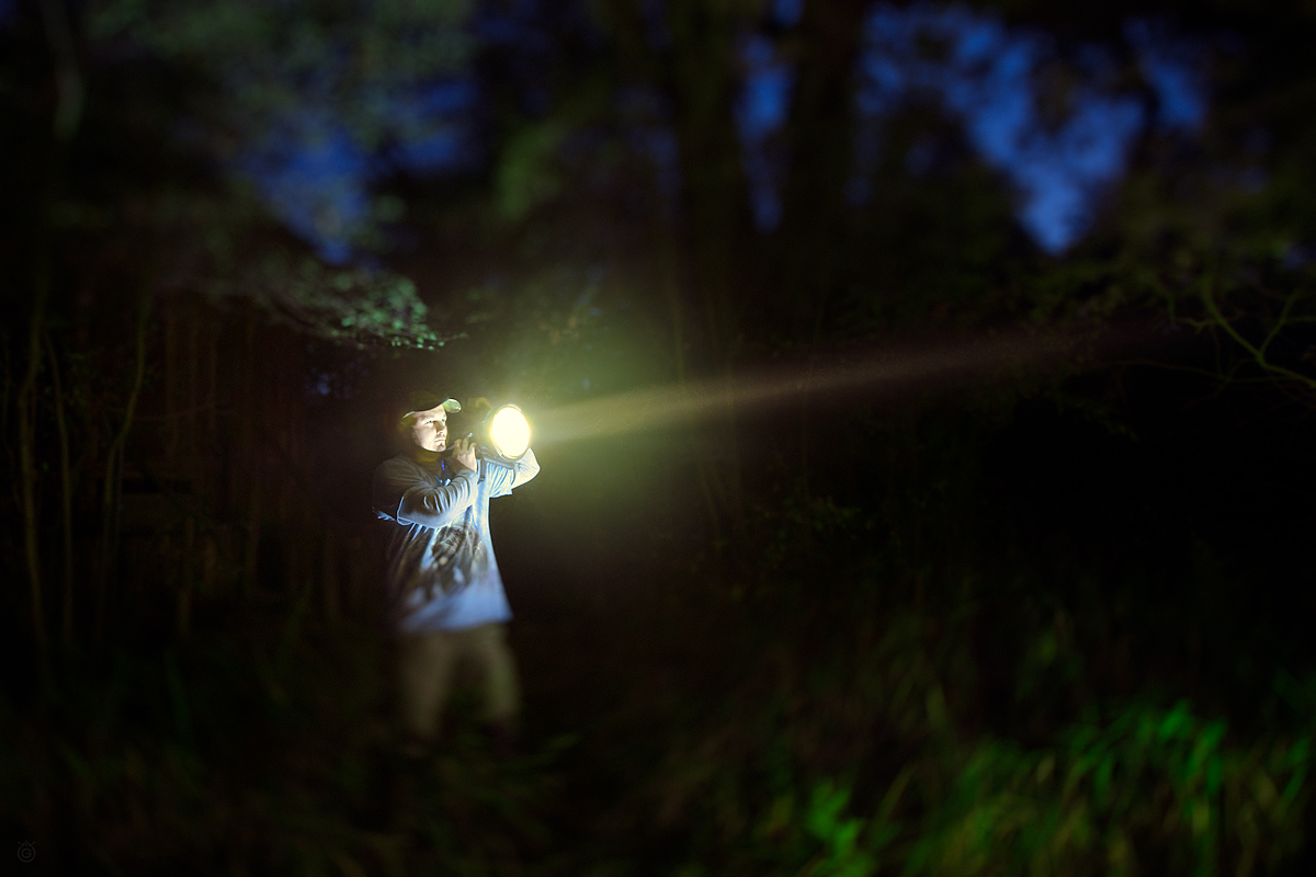 Buszujacy w morku by Wojciech Grzanka