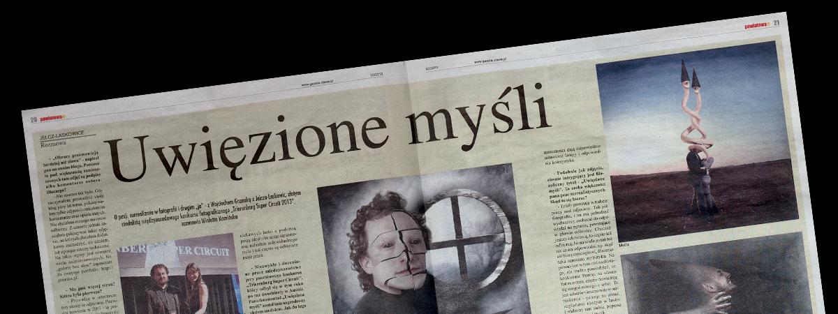 Uwięzione myśli Wojciech Grzanka