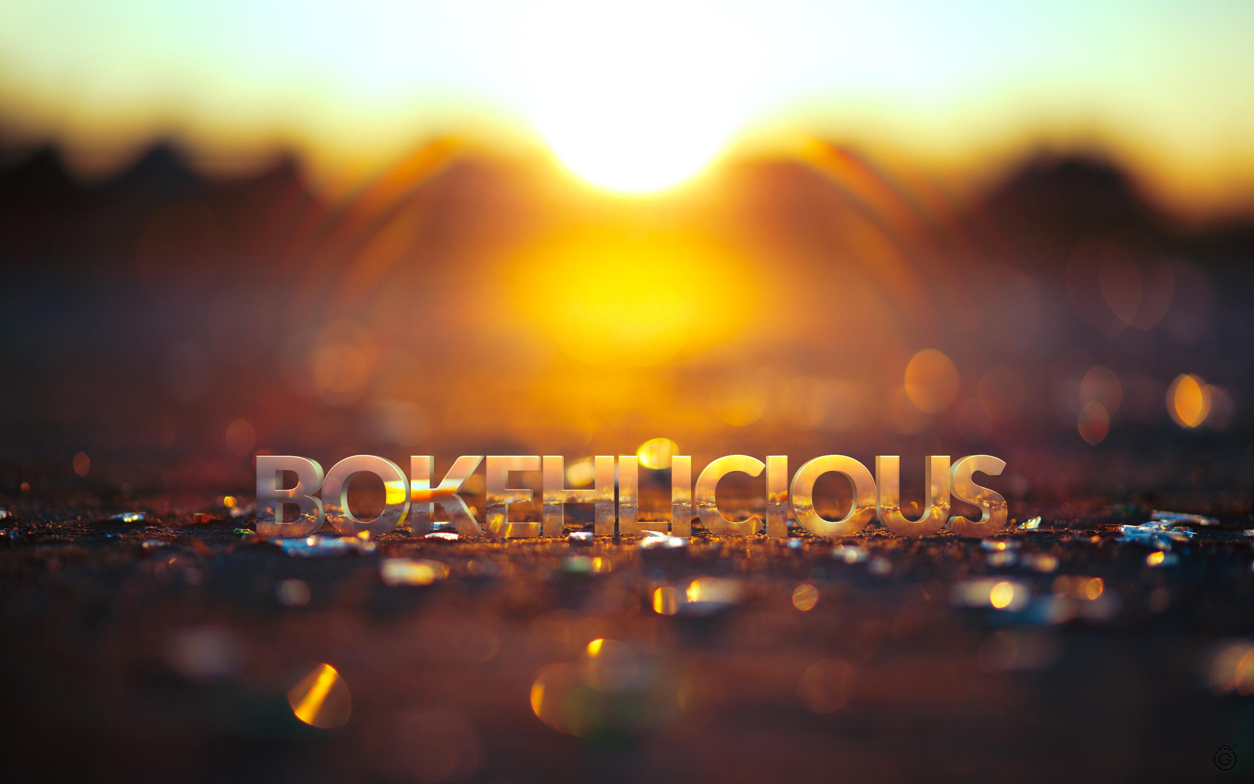 Bokehlicious - Wallpaper 2560x1600 by Wojciech Grzanka