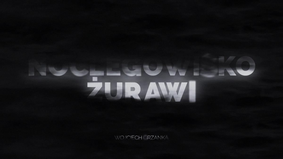 Noclegowisko żurawi - Intro by Wojciech Grzanka