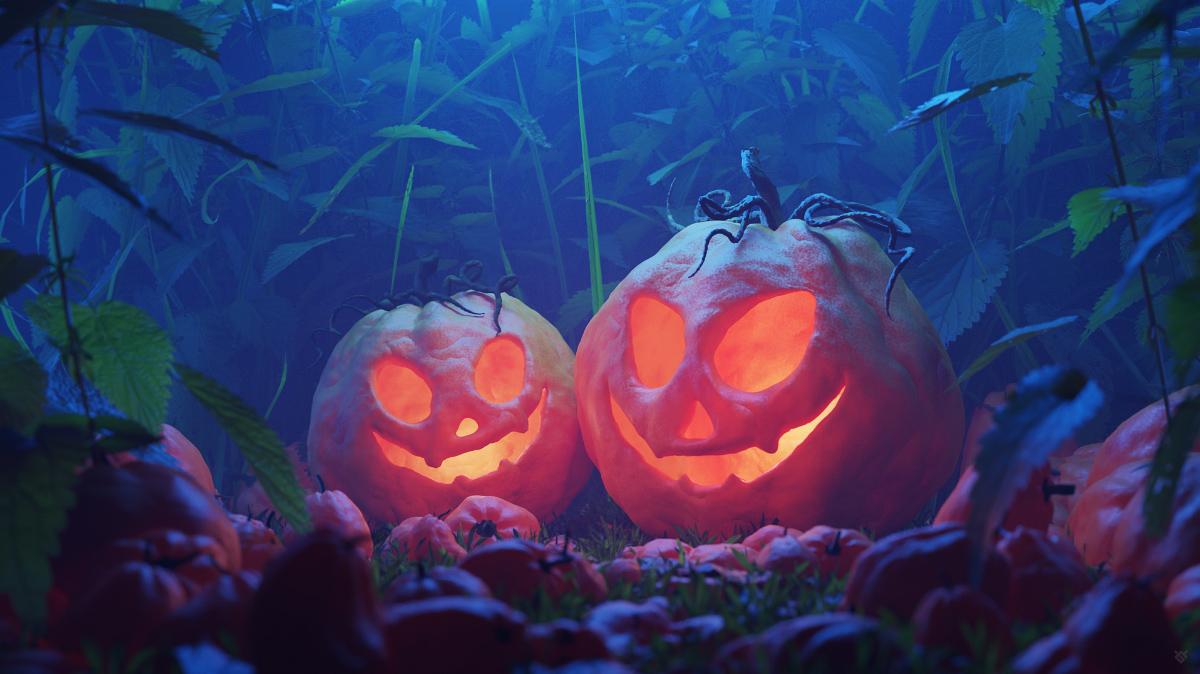 Jack o' lanterns by Wojciech Grzanka